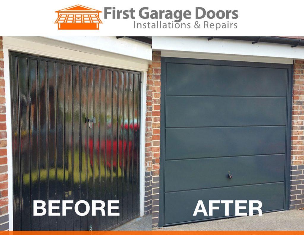 sectional-garage-door installation