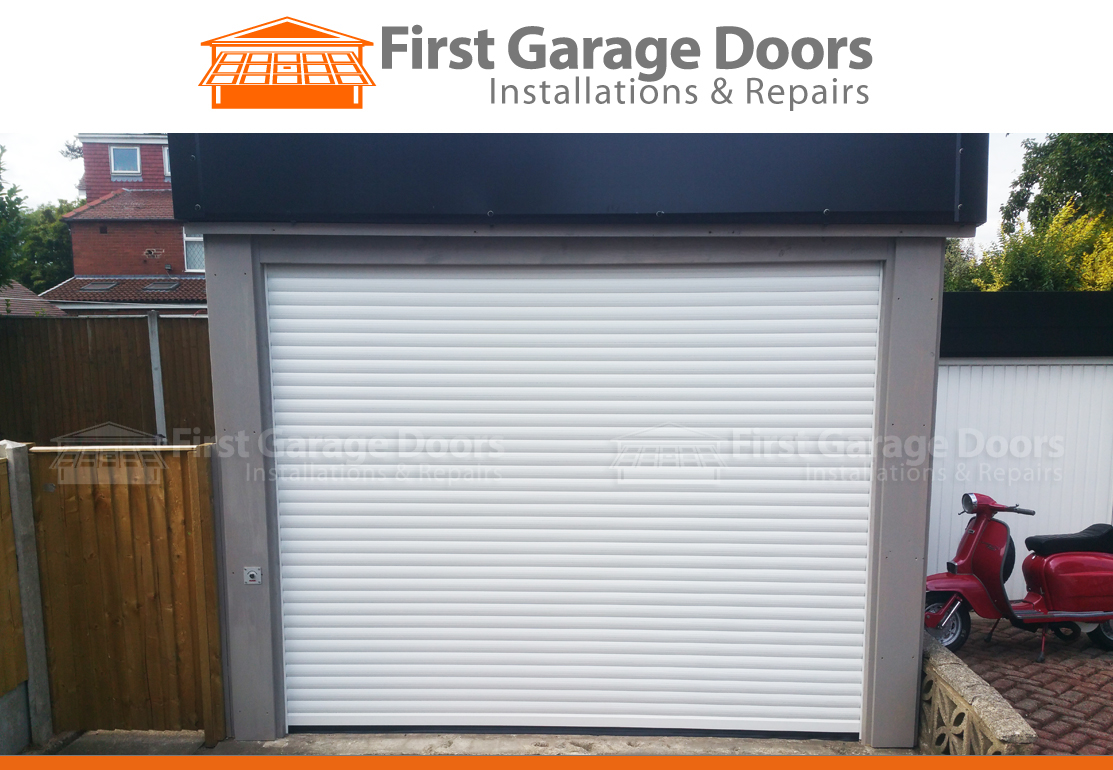 770 #BD530E  Roller Garage Door With New Timber Surround First Garage Doors pic First Garage Doors 36211113