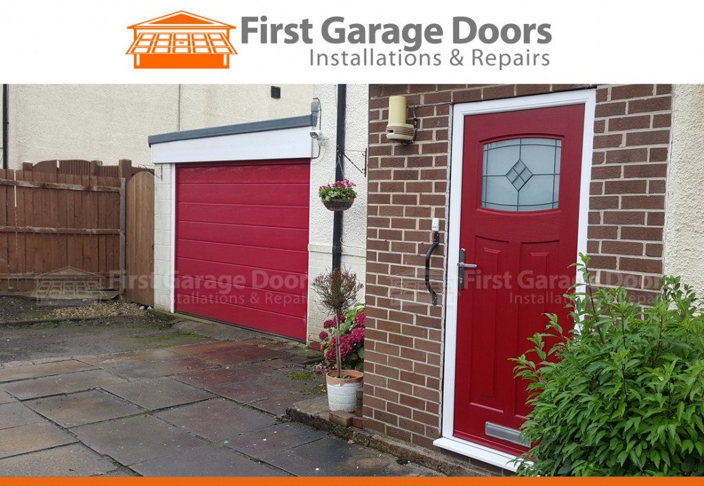 We Can Also Fit Composite Front Doors To Match The Colour Of Your Garage  Door