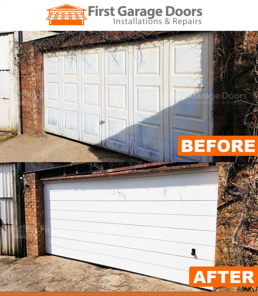 New hormann garage door for 16ft garage door
